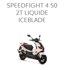 SPEEDFIGHT 4 50 2T LIQUIDE ICEBLADE